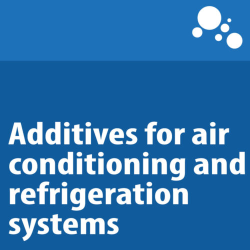 Additives for air conditioning and refrigeration systems