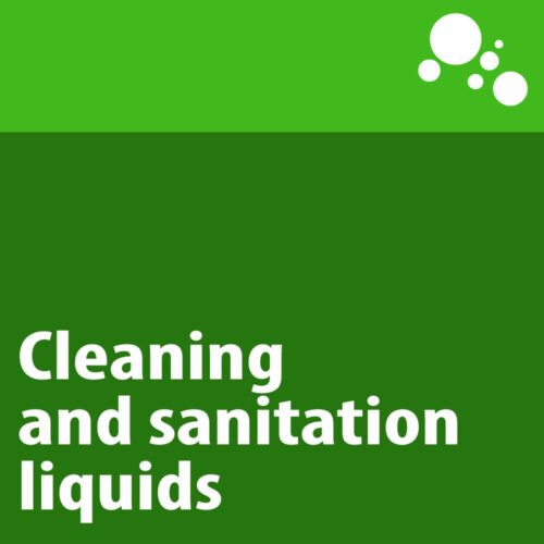Cleaning and sanitation liquids