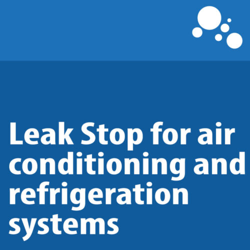 Leak Stop for air conditioning and refrigeration systems