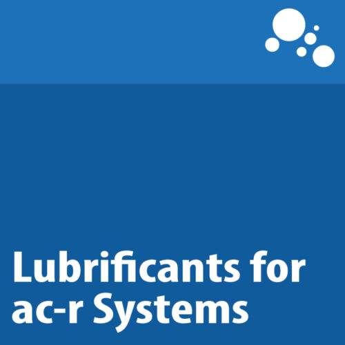 Lubrificants for ac-r Systems