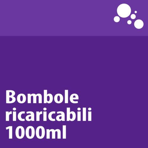 Bombole ricaricabili in ferro 1000ml