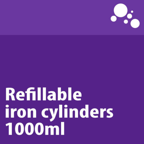 Refillable Iron Cylinders 1000ml